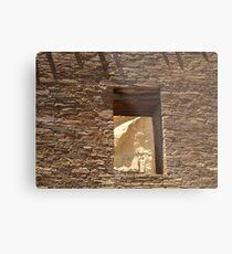 Historic Ruins, Chaco Canyon, New Mexico Metal Print
