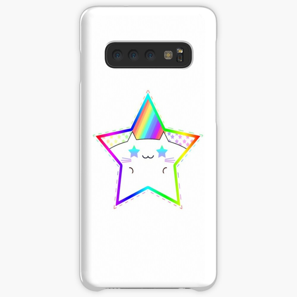Rainbow Starry Kitty Samsung Galaxy Snap Case