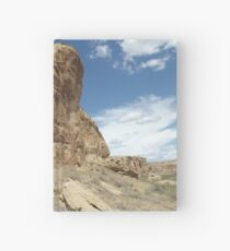 Rock Formation, Chaco Canyon, New Mexico Hardcover Journal