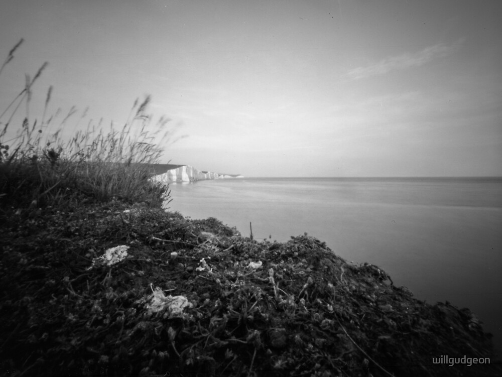 The Seven sisters East Sussex UK - Pinhole photography by willgudgeon