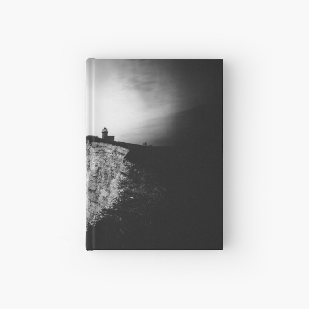Belle Tout Lighthouse. Pinhole photo Hardcover Journal