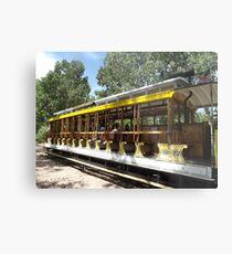 Vintage Trolley, Denver, Colorado  Metal Print