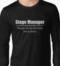 Stage Manager Gifts - Women Assistant Stage Managers Long Sleeve T-Shirt