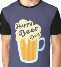 Happy Beer Day - international beer day Graphic T-Shirt