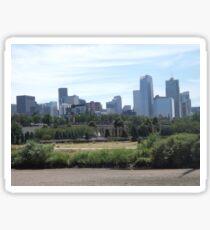 Skyline, Denver, Colorado Sticker