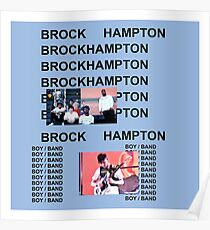 Brockhampton Kanye West Life of Pablo Cover Parody Poster