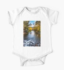 Bright river Short Sleeve Baby One-Piece