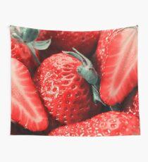 Vintage Strawberries Wall Tapestry