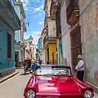 Cuba. Havana. Street. Old Car. by vadim19