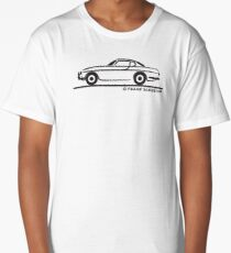 Volvo P1800 Coupe Long T-Shirt