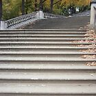Stairs at Sanssouci by christophm