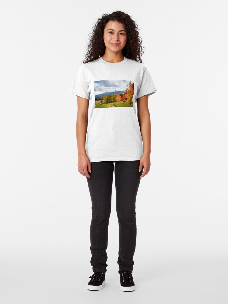Alternate view of Road to heaven Classic T-Shirt
