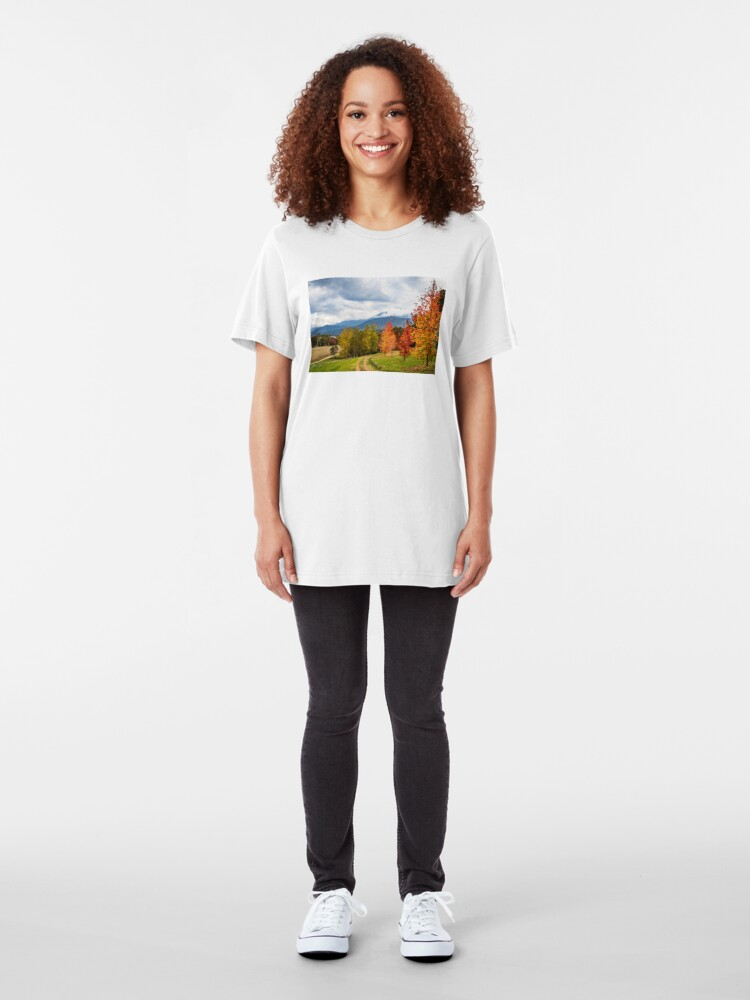 Alternate view of Road to heaven Slim Fit T-Shirt