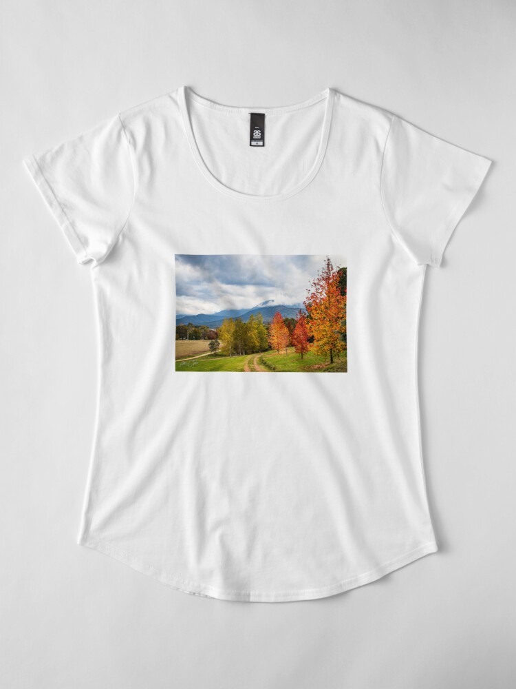 Alternate view of Road to heaven Premium Scoop T-Shirt