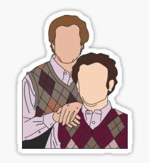 Step Brothers Portrait Sticker