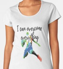 T-shirt I can overcome everything Sport Fitness Gym Women's Premium T-Shirt