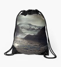 Before The Sun Drawstring Bag