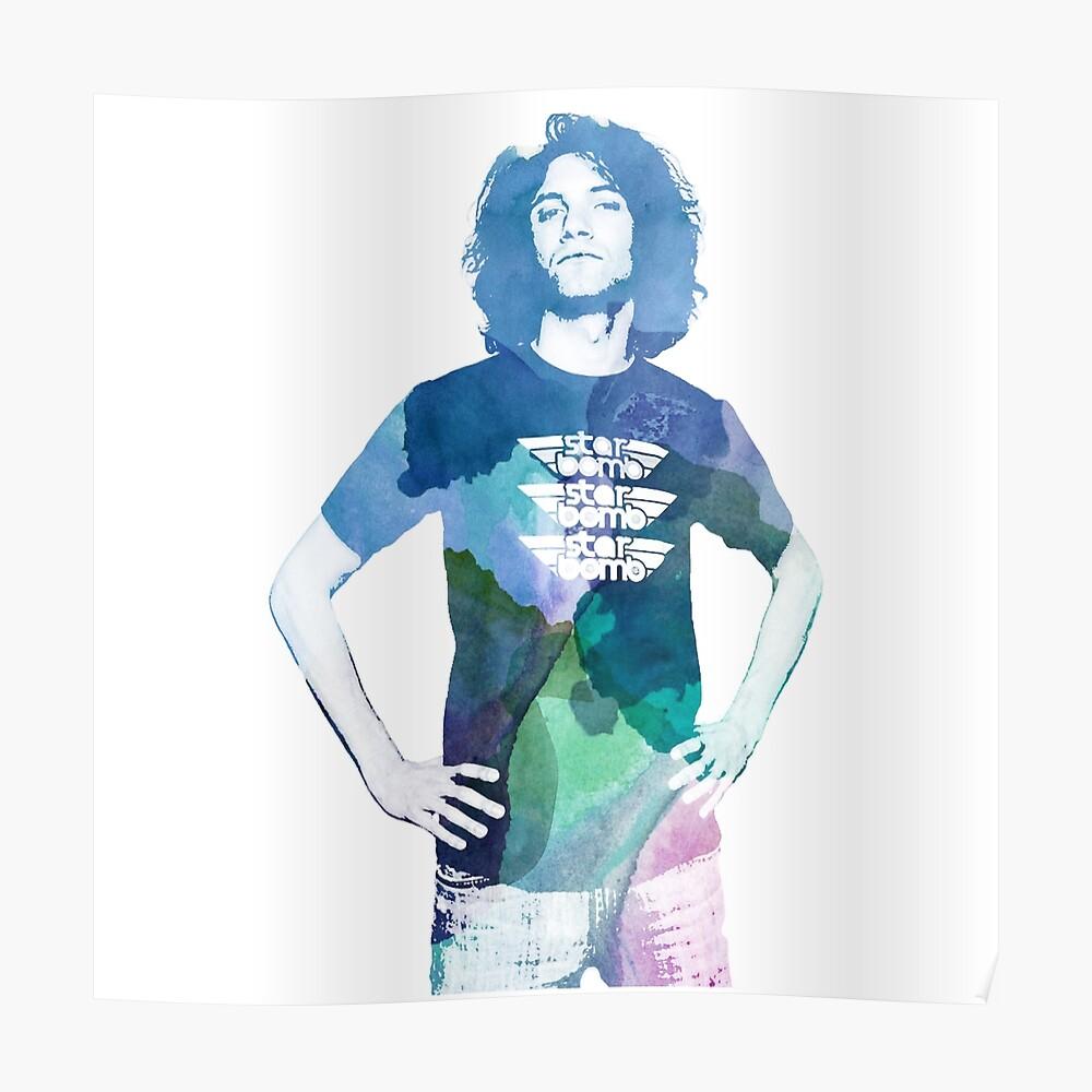 Danny Avidan - Aquarell Poster