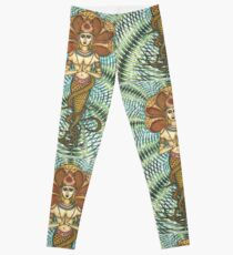 Patanjali Jungle Kaleidoscope  Leggings
