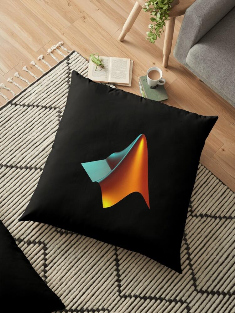'MATLAB' Floor Pillow by league95
