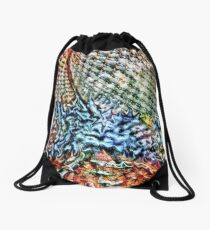 Abstract 7 Drawstring Bag