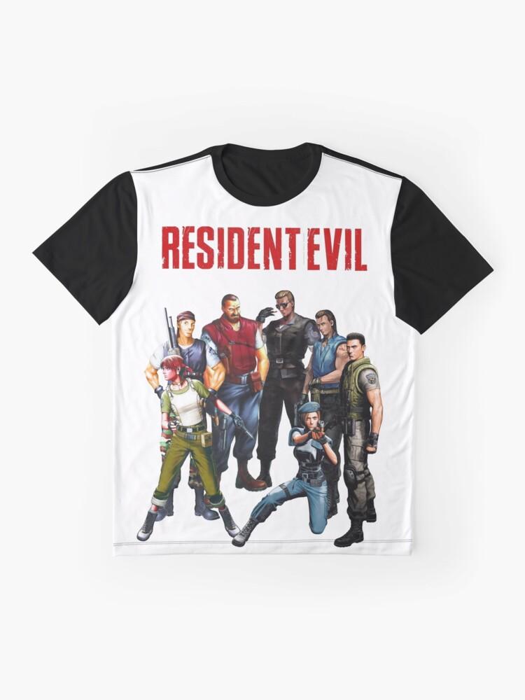 Alternative Ansicht von Sie entkamen in die Villa, wo der Gedanke, dass es sicher war, doch ... Grafik T-Shirt