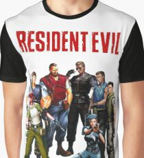 They escaped into the mansion, where they thought it was safe, yet... Graphic T-Shirt