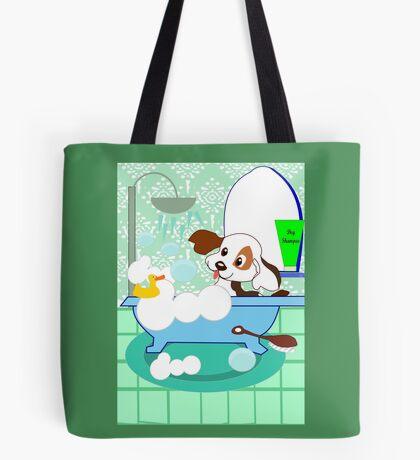 Rub-A-Dub Who is in the Bath tub (3701  Views) Tote Bag