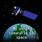 Meine andere Kamera ist im Weltraum von Justin Atkin