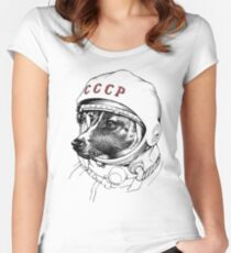 LAIKA Women's Fitted Scoop T-Shirt