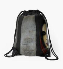 The Prisoner Drawstring Bag