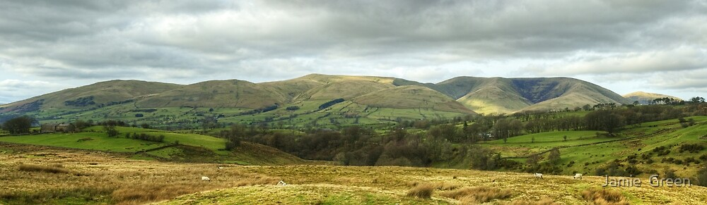 The Howgill Fells, Cumbria by Jamie  Green
