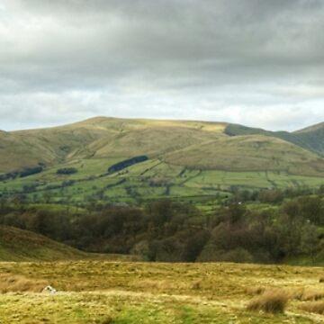 The Howgill Fells, Cumbria by VoluntaryRanger