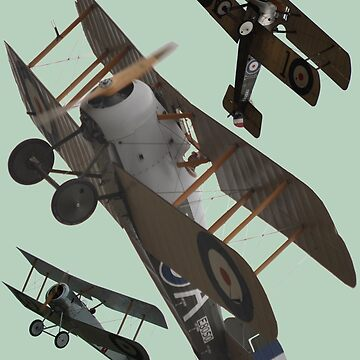 I'm With Sopwith Design by muz2142