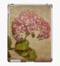 Vintage Hydrangea #2 iPad Case/Skin