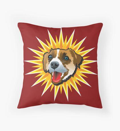 Fox Star Throw Pillow