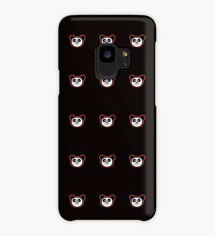 Happy Panda Baby Blue Case/Skin for Samsung Galaxy