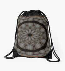 Stained Glass Drawstring Bag