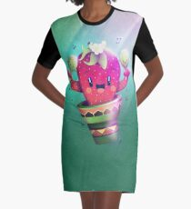 Strawberry Cactus T-Shirt Kleid