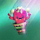 Strawberry Cactus by schwebewesen