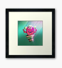 Strawberry Cactus Gerahmtes Wandbild