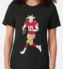 Jimmy Garoppolo, The GOAT Tri-blend T-Shirt