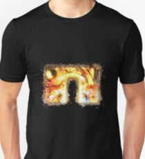 Time machine steampunk glowing Art Unisex T-Shirt