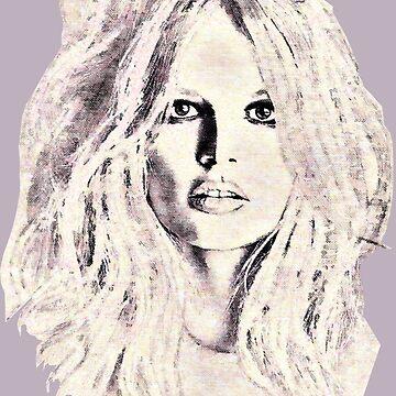 Brigitte by painterfrank