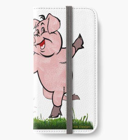 Bon Voyage -piggy is happy  (4787 Views) iPhone Wallet