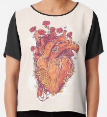 Sweet Heart Chiffon Top