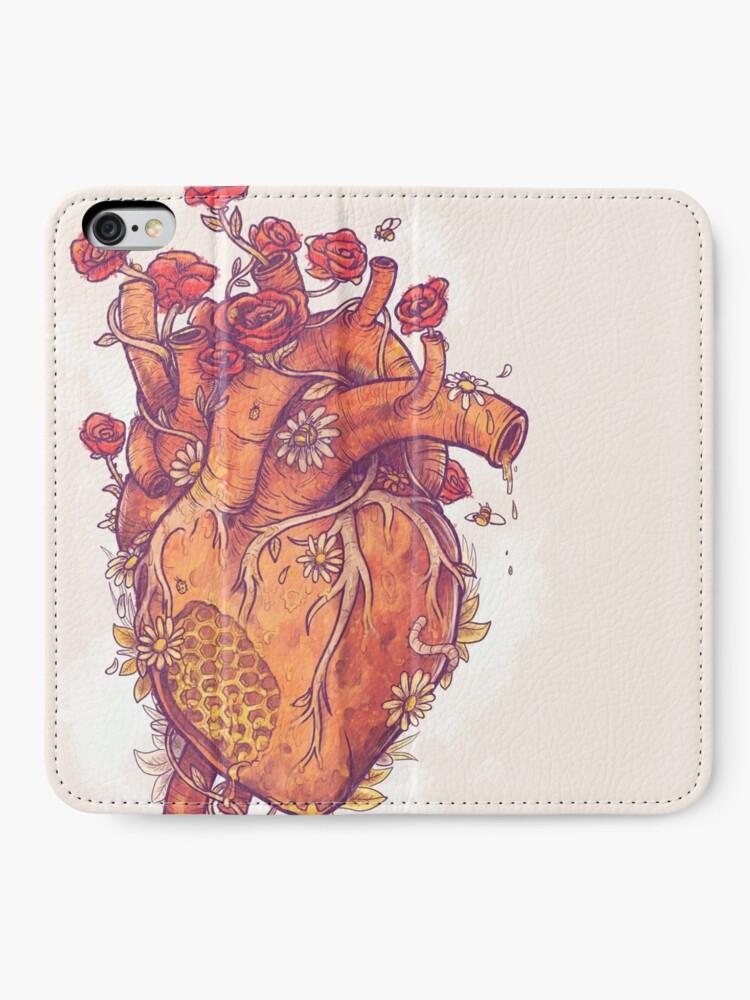 Alternate view of Sweet Heart iPhone Wallet
