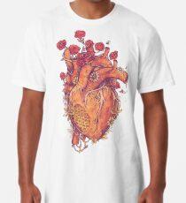Camiseta larga Dulce corazón