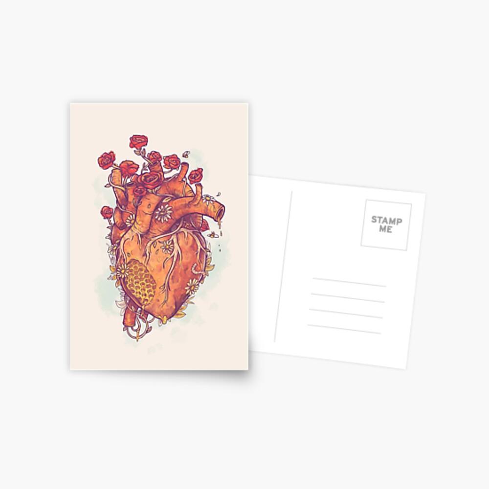 Schatz Postkarte