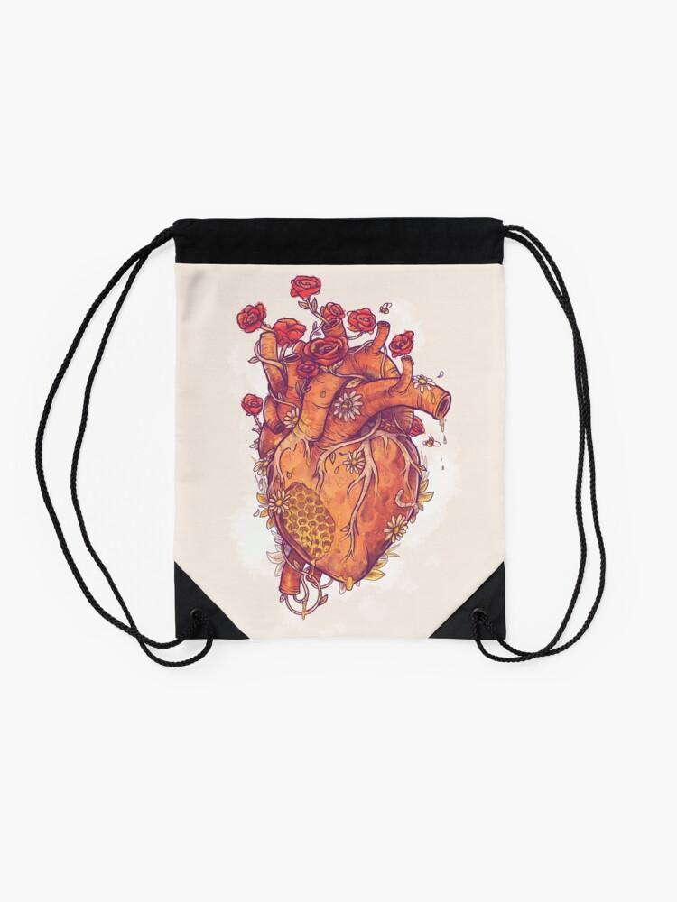 Alternate view of Sweet Heart Drawstring Bag